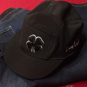 Black clover baseball cap any pre-owned